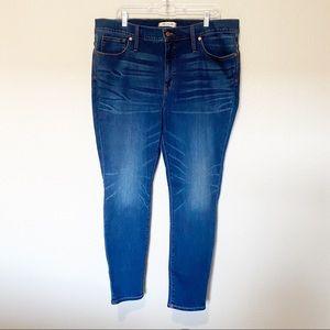 """Madewell 9""""High Rise Skinny Jean"""